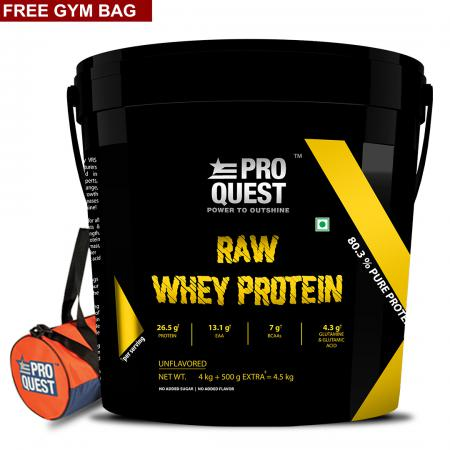 raw whey 4.5 kg for post new